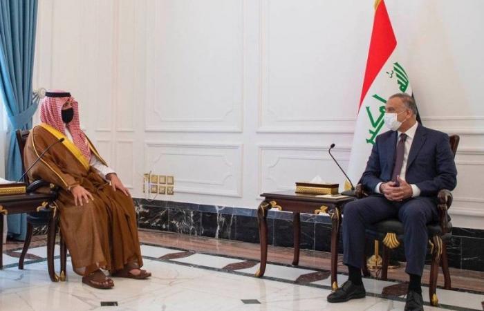 رئيس الوزراء العراقي يستقبل وزير الداخلية