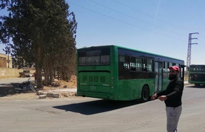 """مسلحو """"درعا البلد"""" جنوبي سوريا يطلبون نقلهم إلى تركيا... صور"""