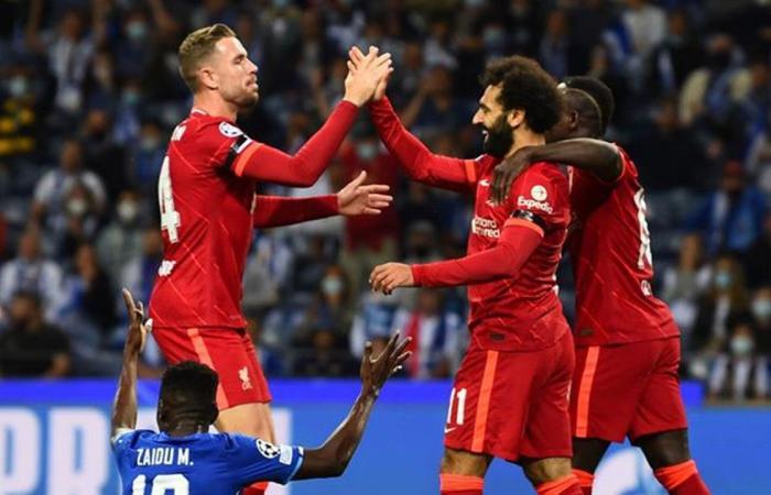 صلاح يسجل هدفين ويقود ليفربول لفوز ساحق على بورتو بدوري الأبطال