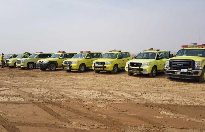 فريق تطوعي يبدأ البحث عن «مفقود عرعر» بمنطقة الحدود الشمالية