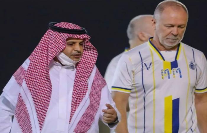 بالفيديو: رئيس النصر يكشف موعد الإعلان عن المدرب الجديد