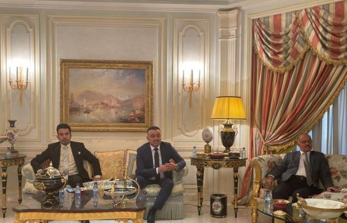 خالد المالك يحتفي بنقيب الصحفيين العراقيين