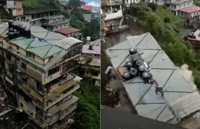 فيديو يوثق لحظة انهيار كارثية لمبنى متعدِّد الطوابق في الهند