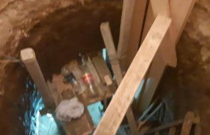 العثور على معبد أثرى رومانى أسفل منزل مواطن نقب عن الآثار بسوهاج
