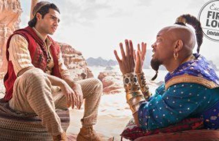 مينا مسعود يكشف آخر تطورات الجزء الثانى من Aladdin