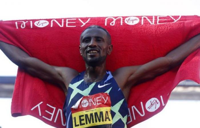 للمرة الأولى... الإثيوبي سيساي ليما والكينية جويسلين جيبكوسجي يفوزان بماراثون لندن