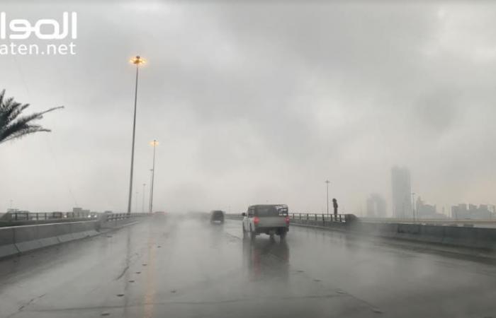 الدفاع المدني يحذر من التقلبات الجوية حتى الجمعة