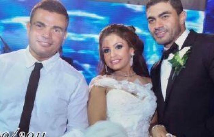 كأنه إمبارح.. خالد سليم يحتفل بعيد زواجه بصورتين بينهما 10 سنين مع زوجته والهضبة