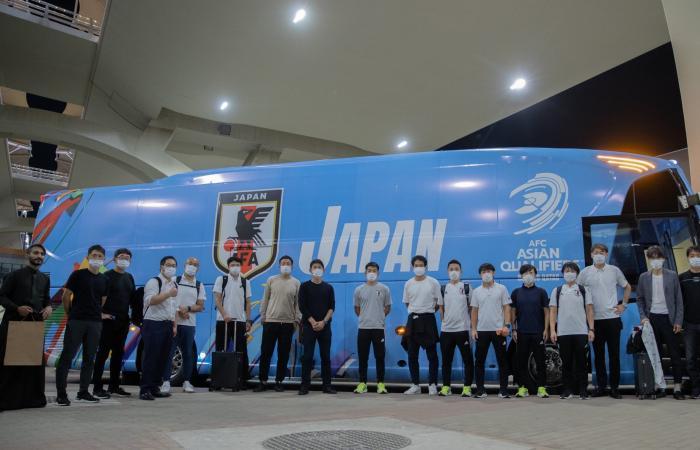 منتخب اليابان يصل إلى جدة
