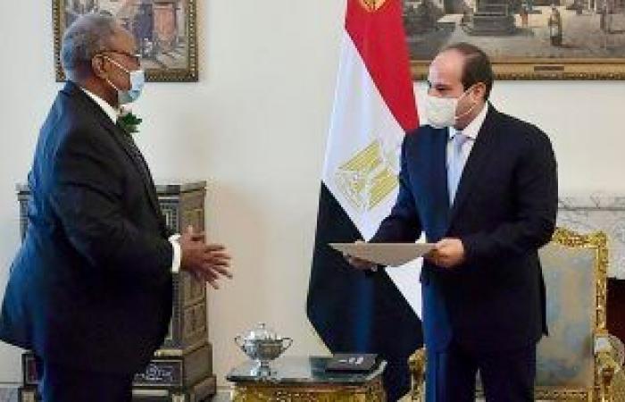 الرئيس السيسي يتلقى رسالة من تشيسيكيدى الرئيس الحالى للاتحاد الأفريقى