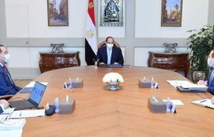 الرئيس السيسي يوجه بزيادة إسهامات البحث العلمى للأغراض العملية التنموية