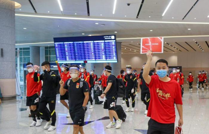 منتخب الصين يصل جدة