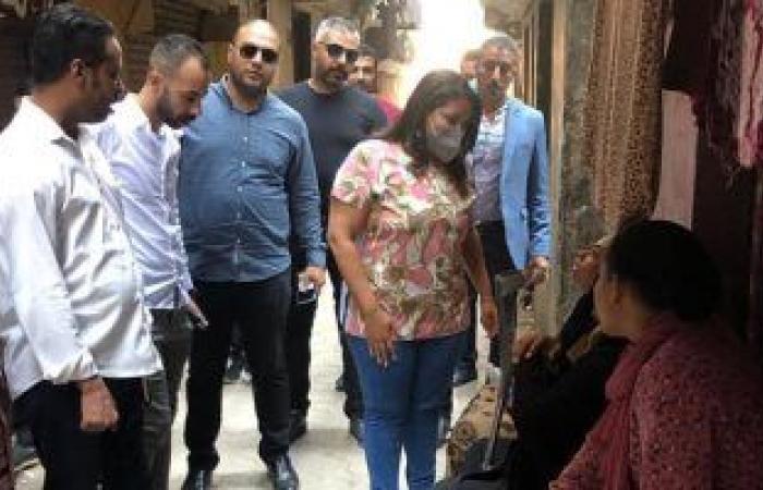 جولات ميدانية لمرثا محروس نائبة التنسيقية فى دائرتها بالأميرية