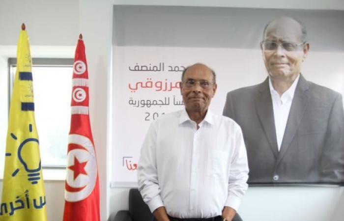 المرزوقي يدعو التونسيين للتظاهر الأحد المقبل لعزل قيس سعيد على غرار بوتفليقة