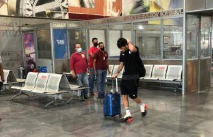 مصر للطيران تسير رحلة خاصة من برج العرب لنقل المنتخب إلى ليبيا