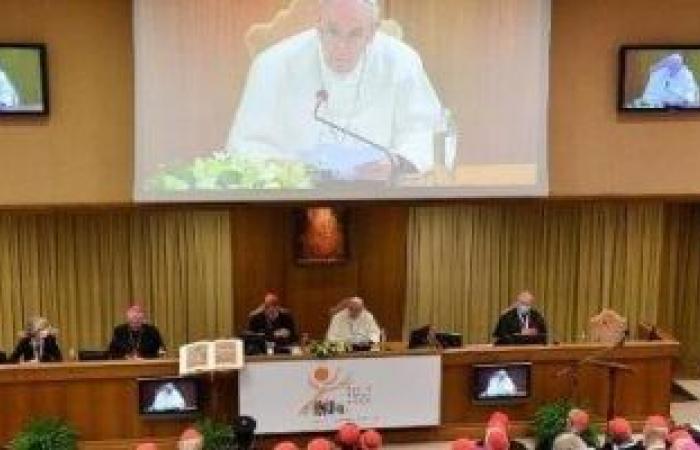 البابا فرنسيس فى افتتاح السنودس: نحن مدعوون إلى الوحدة والشركة والأخوة