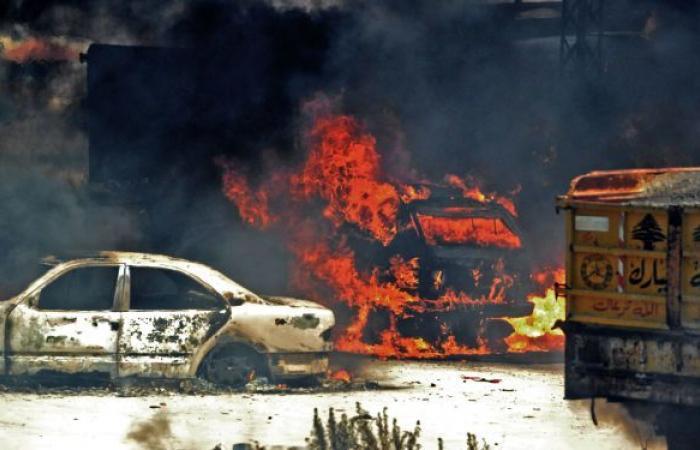 انفجار هائل في منطقة صناعية غربي الجزائر... فيديو