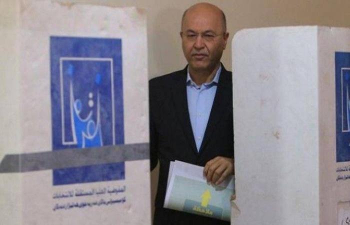 برهم صالح للعراقيين: احموا أصواتكم وقرروا مستقبل بلدكم