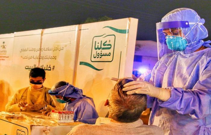 الصحة: 59 إصابة جديدة بكورونا وتعافي 41 حالة خلال الـ 24 ساعة الماضية