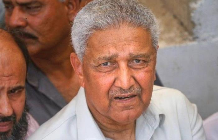 عن 85 عاماً.. الموت يغيب «أبو القنبلة النووية الباكستانية»