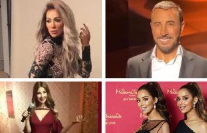 نسخة طبق الأصل.. 4 فنانين عرب لهم تماثيل من الشمع .. تعرف عليهم