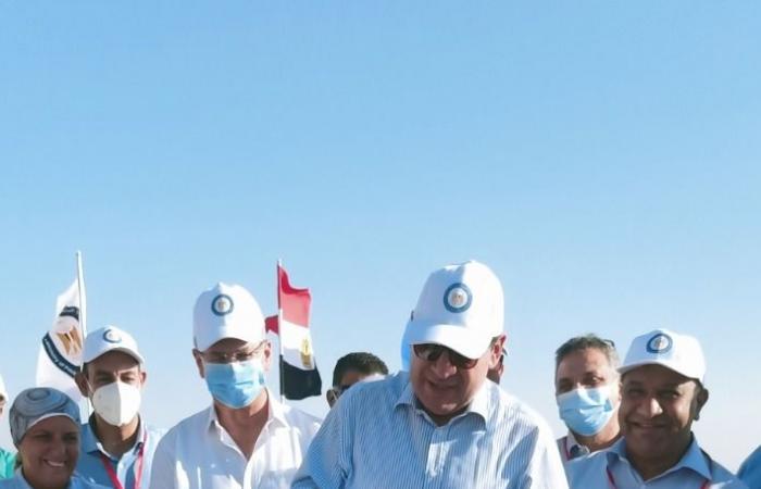 البترول: وضع حجر الأساس لمحطة معالجة الحمد البرية بتكلفة استثمارية مليار جنيه