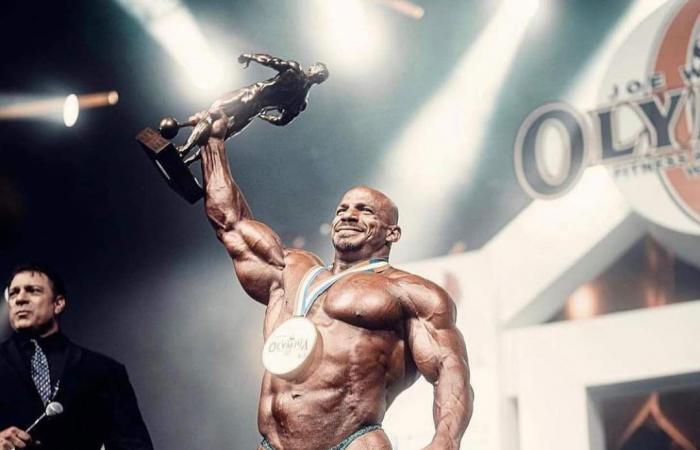 بيج رامي يحقق إنجازا تاريخيا.. بطلا لمستر أولمبيا للمرة الثانية على التوالي
