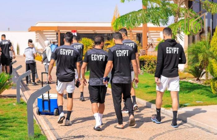 شاهد.. كواليس منتخب مصر فى فندق الإقامة قبل مواجهة ليبيا