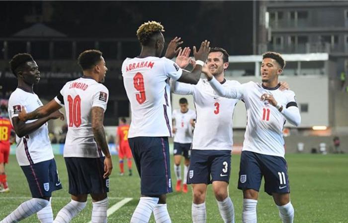 إنجلترا تفوز على أندورا بخماسية نظيفة في تصفيات المونديال