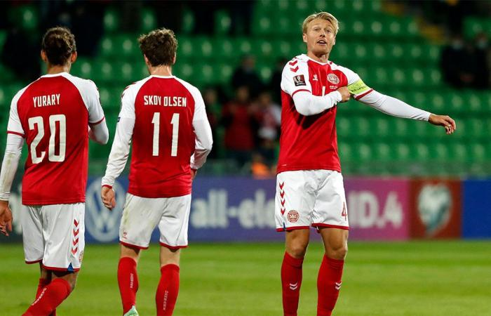 منتخب الدنمارك يضع قدمًا فى كأس العالم برباعية فى مرمى مولدوفا