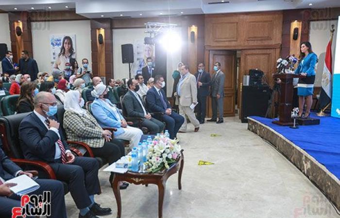 وزيرة التضامن: فتيات اليوم سيدات مصر العظيمات غدا