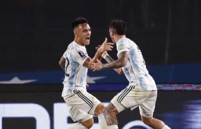 سر بكاء مهاجم منتخب الأرجنتين في مباراة أوروغواي... لقطة أثارت جدلا