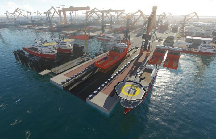 600 موظف يستفيدون من برامج العالمية للصناعات البحرية