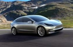 Model 3 من تيسلا تتفوق في أوروبا على منافسيها من السيارات الكهربائية