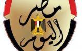 """بالفيديو..حسن الهلالى """"صاحب أطول شنب"""" يغنى لمحافظ القاهرة أثناء افتتاحه لمدرستين بالسبتية"""